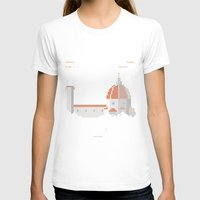 florence T-shirts featuring FLORENCE ARCADE by TommiGiomi