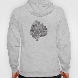 Buenos Aires Map Hoody