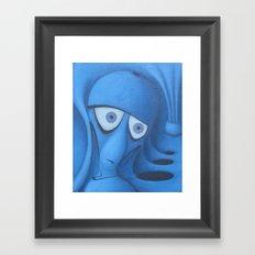 BLEEP Framed Art Print