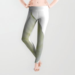 Peace Lily on White #1 #floral #decor #art #society6 Leggings