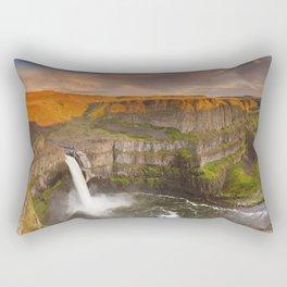 I - Palouse Falls in Washington, USA at sunset Rectangular Pillow