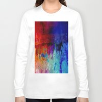 horses Long Sleeve T-shirts featuring Horses  by Latidra Washington