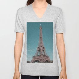 paris, france, eiffel tower Unisex V-Neck