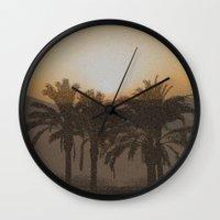 arabic Wall Clocks featuring Arabic by Louise Machado