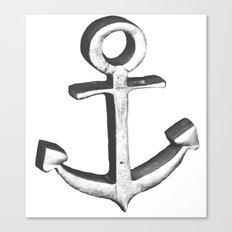 Vintage Anchor Canvas Print