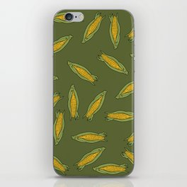 Corn pattern iPhone Skin