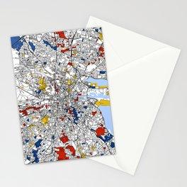 Dublin mondrian Stationery Cards
