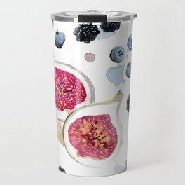 Figs and Berries Travel Mug