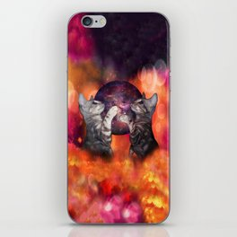 The Silver Marble Oracle Kitty Cats of the Kittyverse iPhone Skin