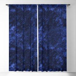 Royal blue navy velvet Blackout Curtain