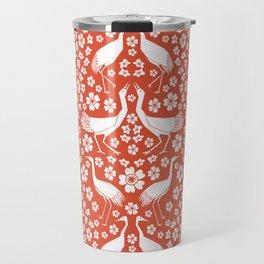 Beautiful Cranes Travel Mug