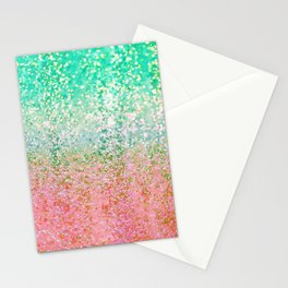 Summer Rain Merge Stationery Cards