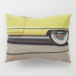 Retro yellow car Pillow Sham