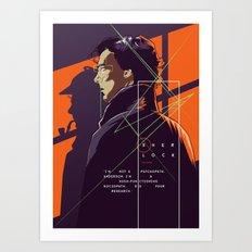 Sherlock - alternative movie poster Art Print