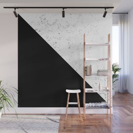 Black Speckle Wall Mural