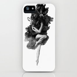 The born of the universe iPhone Case
