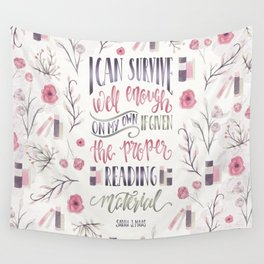 I CAN SURVIVE WELL ENOUGH Wall Tapestry