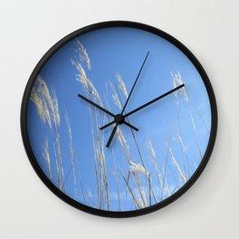 Waving wheat Wall Clock