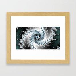 Fractal Vortex Framed Art Print