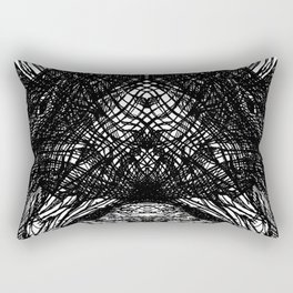 WITH THE RETURN OF SENSATION COMES THE RETURN OF AWARENESS Rectangular Pillow