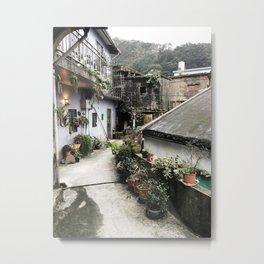 Jiufen Old Street  Metal Print