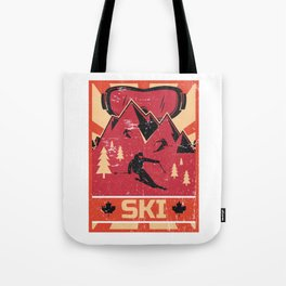 Ski Propaganda | Winter Sports Tote Bag