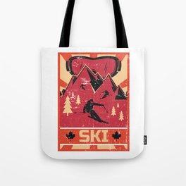 Ski Propaganda | Winter Sports Tote Bag