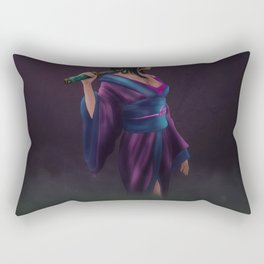 Femme Fatale Rectangular Pillow