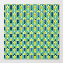 Digital Love (Patterns Please) Canvas Print