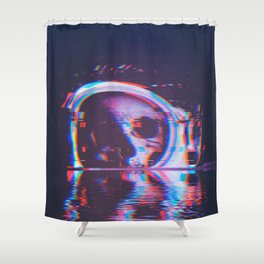Flooded Shower Curtain