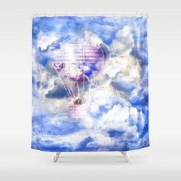 Siebenter Himmel Shower Curtain