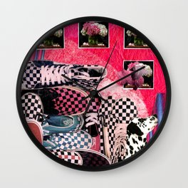 Shoes Shoes Shoes Wall Clock