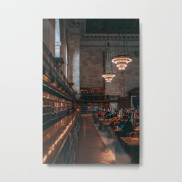 Rose Reading Room, NYPL 02 Metal Print