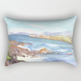Sound of Iona from the Argyll Hotel Rectangular Pillow