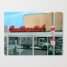 No Standing At The Continental Canvas Print
