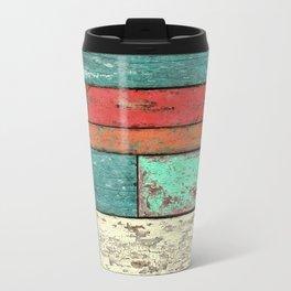 Cubic Wood 2 Travel Mug