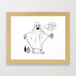 Sheeky Framed Art Print