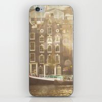 amsterdam iPhone & iPod Skins featuring Amsterdam by Cassia Beck