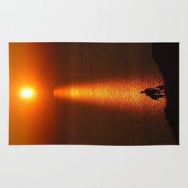 Walk The Path To The Sun Rug