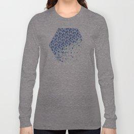 Winter Snowing Funfetti Long Sleeve T-shirt