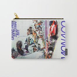 Gran Prix de Monaco, 1971, original vintage poster Carry-All Pouch