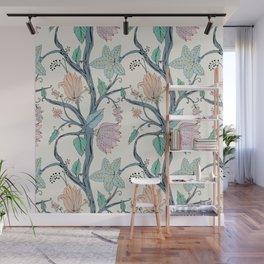 botanical pastel Wall Mural