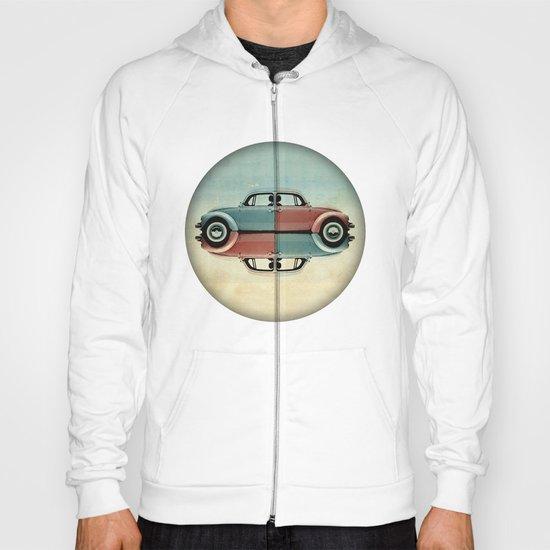checkered bug - VW beetle Hoody