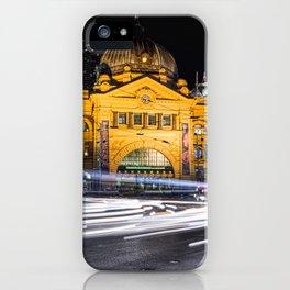 Flinders Street Station iPhone Case