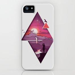 Landforms iPhone Case