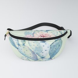Rose Desert Cactus Mint Green + Pink by Nature Magick Fanny Pack