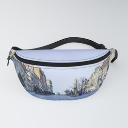 Cold Day in Vieux Montreal Old Town Fanny Pack