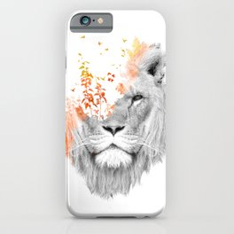 If I roar (The King Lion) iPhone Case