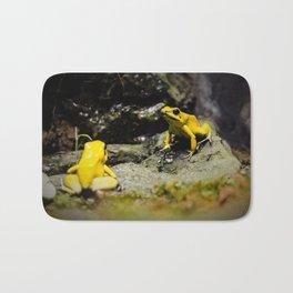 Golden Dart Frog Bath Mat