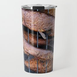 Smoked fish pike and roach Travel Mug